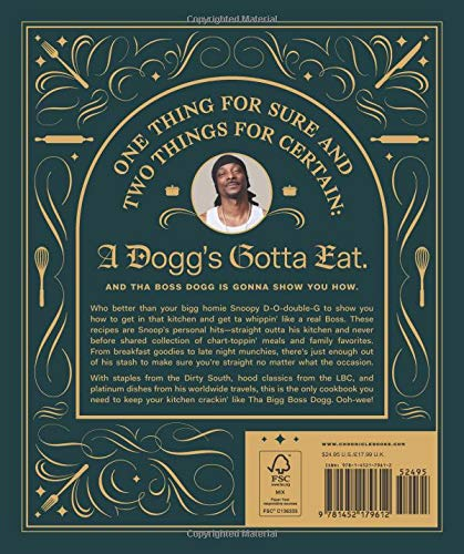 From Crook to Cook: Platinum Recipes from Tha Boss Dogg's Kitchen (Snoop Dogg Cookbook, Celebrity Cookbook with Soul…
