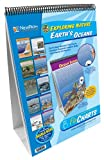 NewPath Learning 10 Piece Earth's Oceans Curriculum Mastery Flip Chart Set, Grade 5-10