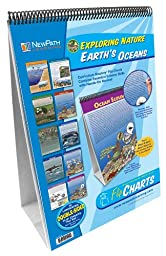 NewPath Learning 10 Piece Earth\'s Oceans Curriculum Mastery Flip Chart Set, Grade 5-10