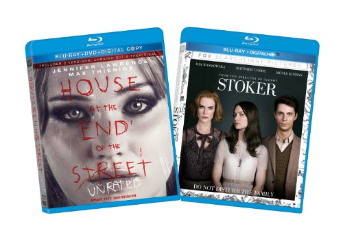 Stoker / House at the End of the Street (Two-Pack) [Blu-ray]