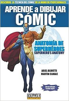 Book APRENDE A DIBUJAR COMIC ANATOMIA DE SUPERHEROES
