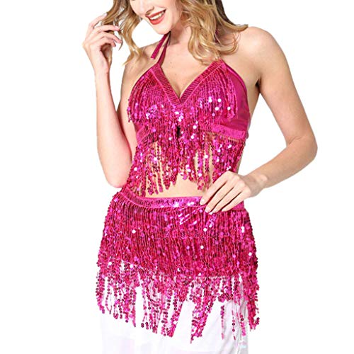 ℱLOVESOOℱ Latin Dance Halloween Cosplay Clothing for Women,