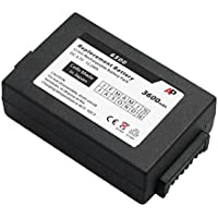 Honeywell / HHP Dolphin 6100, 6110, 6500 & 6000LU1: Replacement Battery. 3600 mAh
