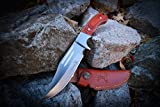 Elk-Ridge-ER-052-Fixed-Blade-Hunting-Knife-Straight-Edge-Blade-Pakkawood-Handle-9-12-Inch-Overall