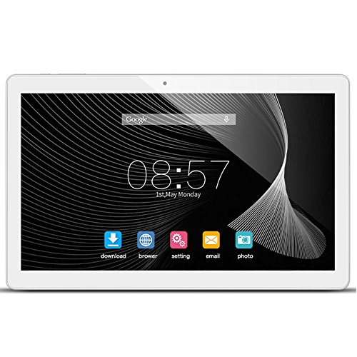 ALLDOCUBE iPlay10 / U83 10.6 inch 1920 x 1080 IPS Display Screen Tablet, Cube Android 6.0 Tablet Quad Core MTK MT8163 64-bit 1.3Ghz, 2GB+32GB, Support 5Ghz + 2.4Ghz WiFi and HDMI Output, White Silver by ALLDOCUBE