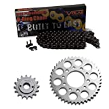 1989-2007 Honda Shadow VLX 600 VT600C O-Ring Chain and Sprocket Kit - Black