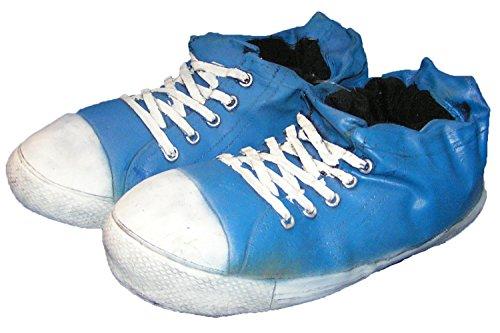 Witzige Riesen Sneaker Hausschuhe gummiert 35-46