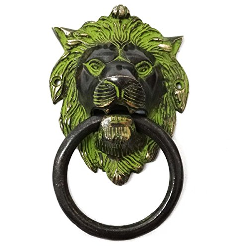 Indianbeautifulart Green Giant Designs Brass Door Knocker