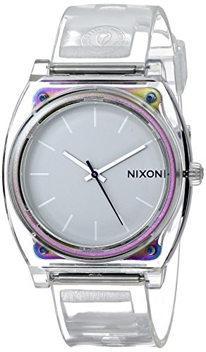 nixon-mens-time-teller-p-translucent-quartz-plastic-casual-watch-colorclear-model-a119-1779