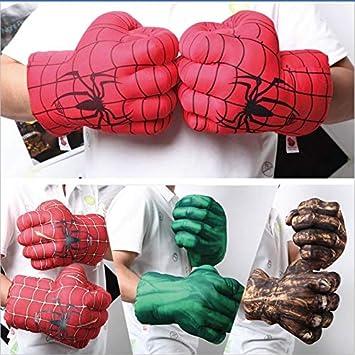sportuli - Guantes de Felpa para niños, Guantes de Boxeo, Guantes de superhéroe para Cosplay, 1 par