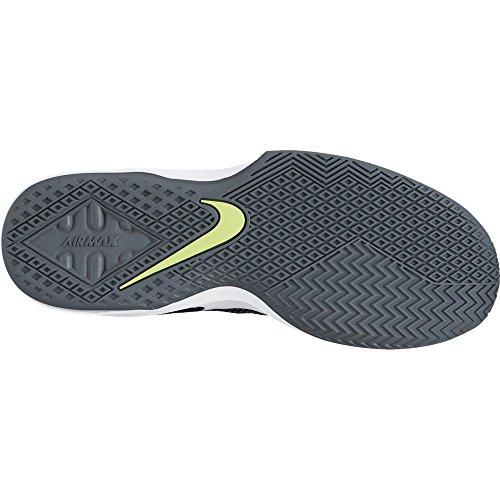 Nike NIKE AIR MAX INFURIATE LOW - Zapatillas deportivas, Hombre, Negro - (Black/White-Volt-Cool Grey)