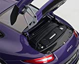 Porsche 911 (991) GT3 RS Ultra Violet with Silver
