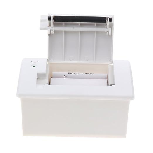 perfk Universal Impresora Térmica 58 mm Corte Automático Uso ...