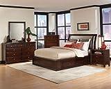 Bedroom Collection Maple Storage Bed Nadine 4 Piece Set