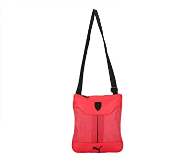 Puma Unisex Sling Bag (Red)  Amazon.in  Shoes   Handbags 1ccab0c552104