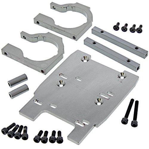 HPI 1/8 Savage XL Flux Motor MOUNTS, Plate & Screws Aluminum Spacers 8mm 4mm (Hpi Racing Spacer)