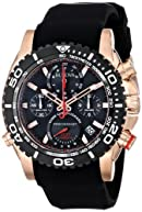 Bulova Men's 98B211 Analog Display Japanese Quartz Black Watch