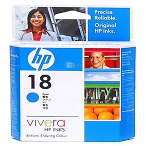 HP 18 Original Ink Cartridge, Cyan
