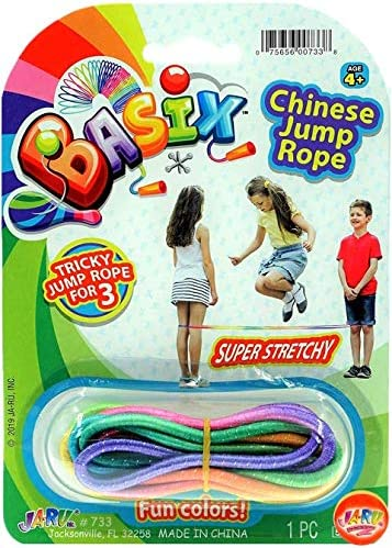 2CHILL Chinese Jump Rope Colorful Stretch Rope Item #733-1SL
