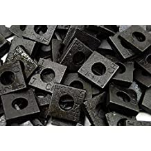 (100) Malleable 1/2 Square Bevel Washers I-Beam Flange Wedge  sc 1 st  Amazon.com & Amazon.com: Cast Iron - Washers / Fasteners: Industrial \u0026 Scientific