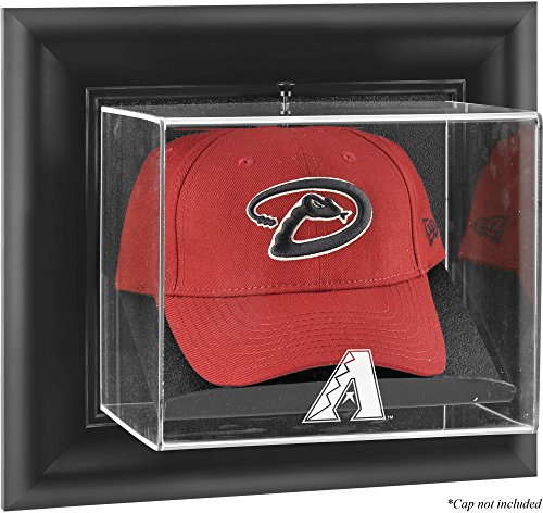 Mounted Memories Arizona Diamondbacks Framed Wall Mounted Logo Cap Display Case (Diamondbacks Wall Arizona Framed)