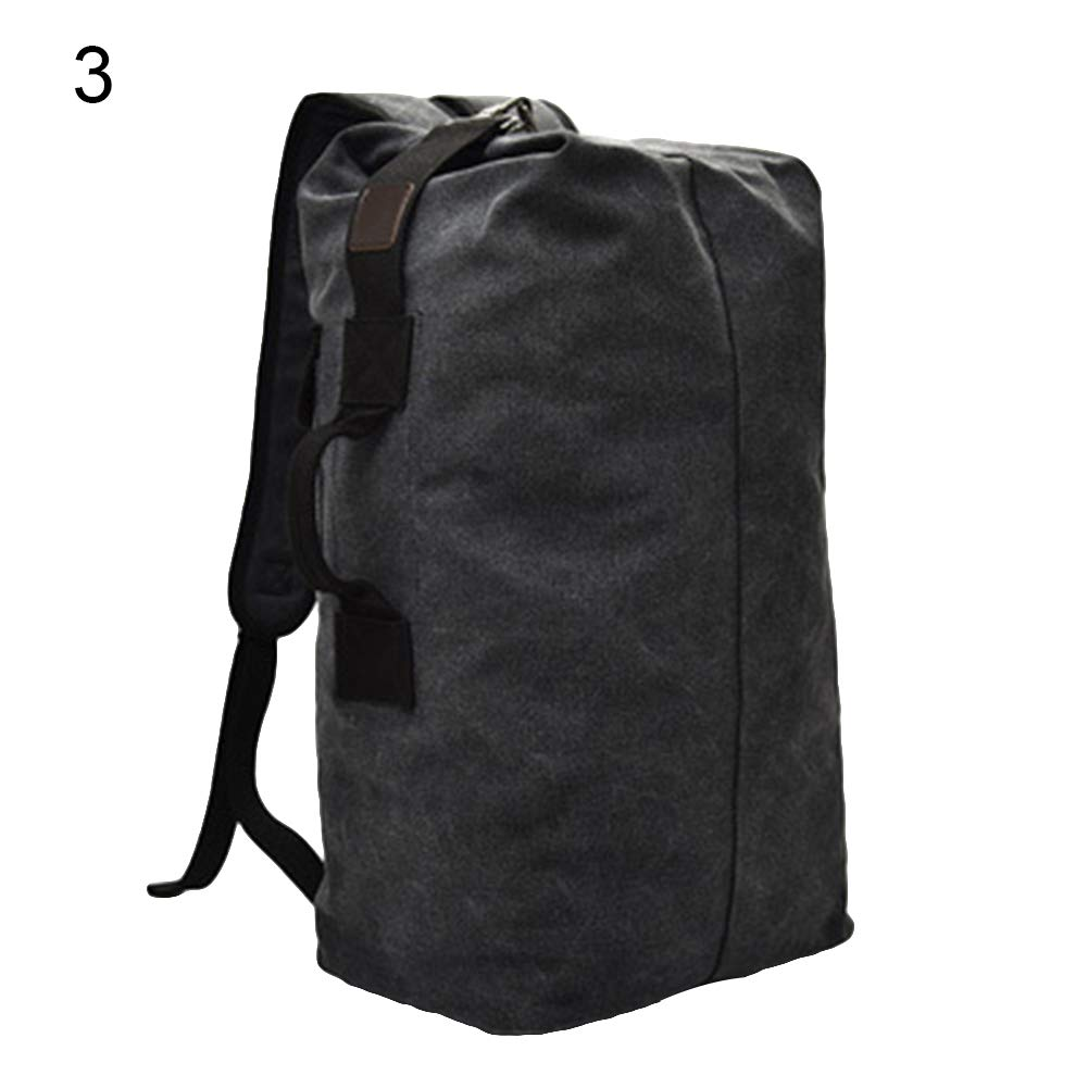 Black L for Camping Cycling Outdoor Sport Men and Women Hiking Climbing Backpack,Wulidasheng Fashion Men Large Capacity Canvas Outdoor Sport Bag Travel Climbing Backpack