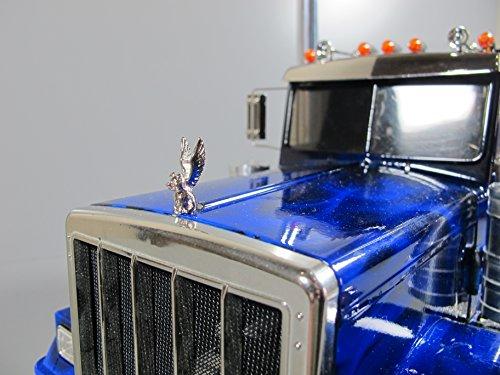 - Rctruckfactory Toy Custom Front Hood Grill Ornament Emblem Angel Pig Tamiya 1/14 Semi King Hauler