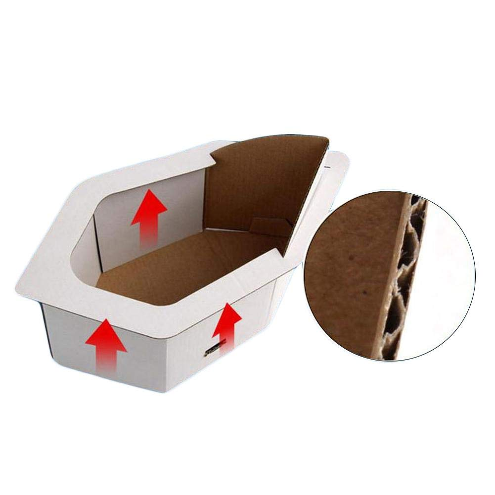 Portable Emergency Toilet Kit for Adult and Children for Outdoor Traffic Jam Emergency Portable Potty Urinal and Liner Bags and Odor Absorbent Organic Media