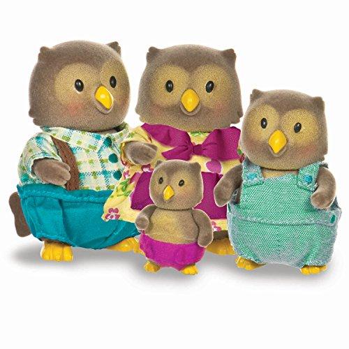Lil Woodzeez Whooswhoos Owl Family