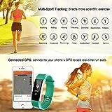 LETSCOM Fitness Tracker HR, Activity Tracker