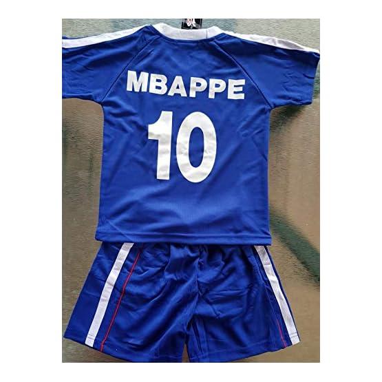 Générique Maillot ET Short Foot France MBAPPE 2 Ans 2 Etoiles