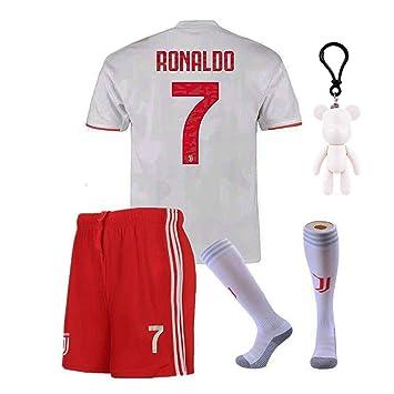 Camiseta de fútbol Juventus 2019-2020 Cristiano Ronaldo CR7 Home ...