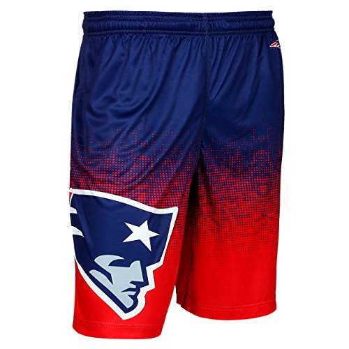 NFL New England Patriots Men's 2016 Gradient Polyester Shorts, Large, (Minnesota Vikings Shorts)