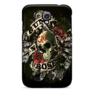 JasonPelletier Samsung Galaxy S4 Shock Absorbent Hard Phone Cases Unique Design Fashion Guns N Roses Pictures [tcr16388lNKf]