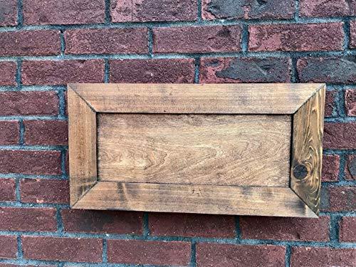 Rustic Farmhouse Hidden Gun Cabinet - Cedar Concealed Storage Cabinet