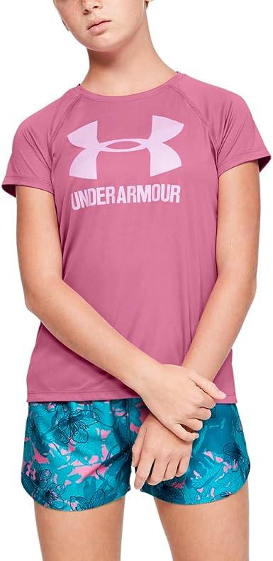 Under Armour UNDKU Big Logo - Camisa Manga Corta Niñas