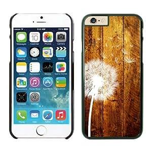 DaojieTM Generic Iphone 6 Case, Dandelion Iphone 6 (4.7-inch) Cases Black Cover wangjiang maoyi