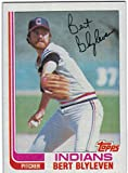 1982 Topps Cleveland Indians Team Set with Bert Blyleven & Joe Charboneau - 26 Cards
