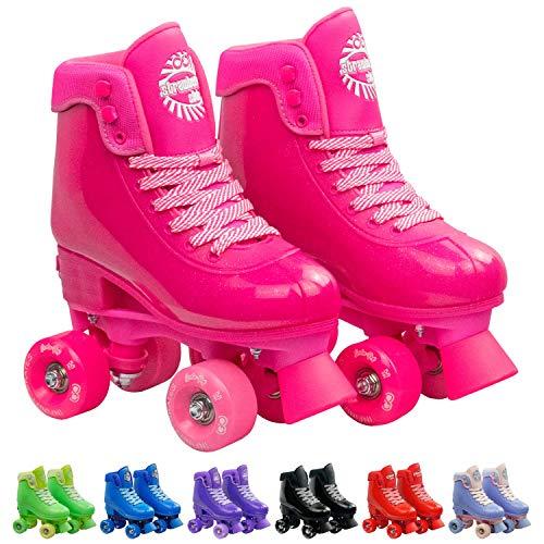 Infinity Skates Adjustable Roller Skates for Girls and Boys - Soda Pop Series - Skates Street Roller