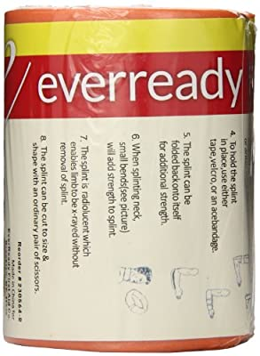 Ever Ready First Aid Universal Aluminum Splint, 36 inch Rolled, 5 Ounce from Ever Ready First Aid