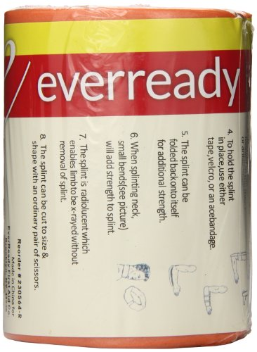 (Ever Ready First Aid Universal Aluminum Splint, 36 Inch Rolled, 5 Ounce)