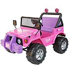 Kid Trax 12V Girl's Jeep 04KT11D Ride On