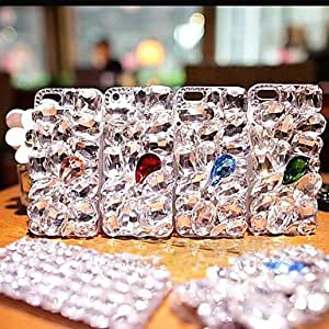 DD Luxury with Diamond Hard Back Cover for iPhone 5 / iPhone 5S (Assorted Colors) , Golden