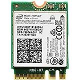 Intel Dual Band Wireless-AC 7265 802.11ac, Dual Band, 2x2 Wi-Fi + Bluetooth 4.0 - (7265NGW)