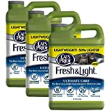 Cat's Pride Fresh and Light Ultimate Care Unscented Hypoallergenic Multi-Cat Litter (3 Pack), 30 lb