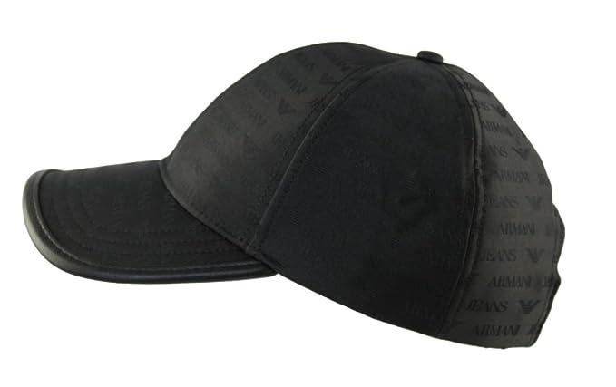 Armani Jeans - Casquette de Baseball - Homme Noir noir Taille Unique ... b8c66c223a7