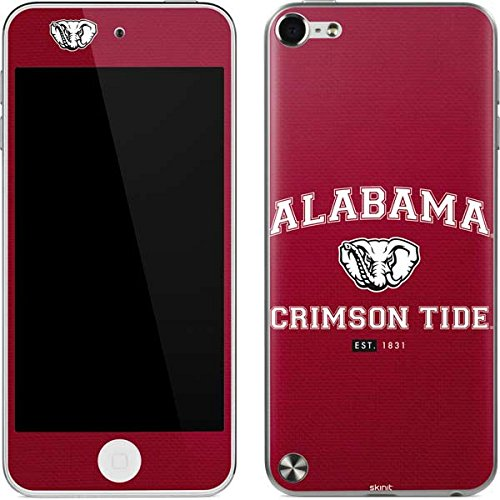 Skinit Decal Skin for iPod Touch (5th Gen&2012) - Officially Licensed College Alabama Crimson Tide Basketball Design (Alabama Ipod Touch Case)