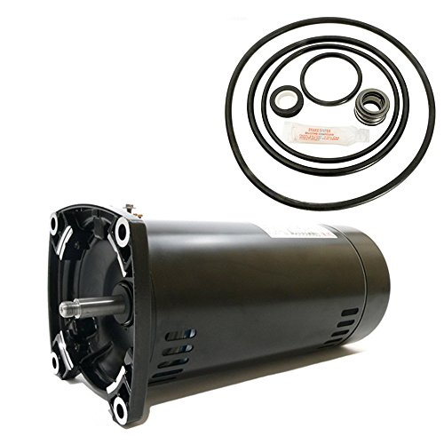 Sta-Rite Dyna-Glas 1HP MPRA6E147L Replacement Motor Kit AO Smith USQ1102 w/ GO-KIT-47