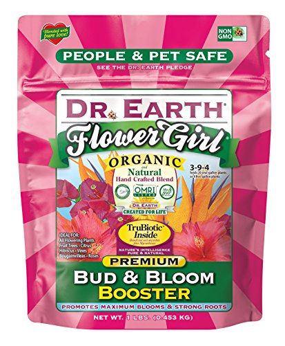 Dr. Earth 70792 1 lb 3-9-4 MINIS Flower Girl Fertilizer by Dr. Earth