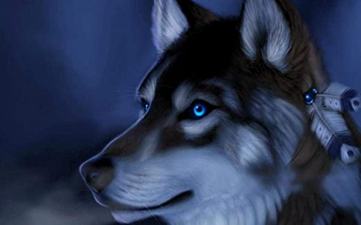 QNJY Adultos Juego Creativo Rompecabezas Ojos Azules Cabeza de ...